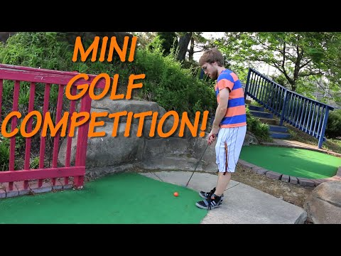 MINI-GOLF COMPETITION!