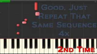 Piano Tutorial: Feel Good Inc - Bass Line