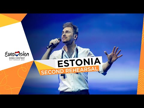 Uku Suviste - The Lucky One - Second Rehearsal - Estonia ?? - Eurovision 2021