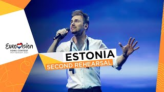 Uku Suviste - The Lucky One - Second Rehearsal - Estonia 🇪🇪 - Eurovision 2021