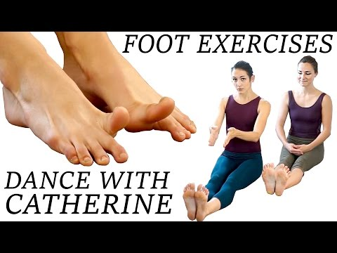 Dance Foot Exercises & Stretches For Strength, Flexibility, Pain Relief, Flat Feet and Ballet Pointe