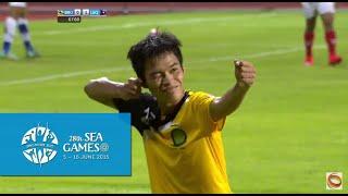 Football Brunei vs Laos  full match highlights 31 May | 28th SEA Games Singapore 2015