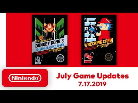 nintendo entertainment system july game updates nintendo switch online