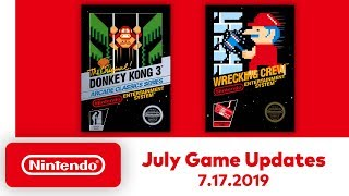 Nintendo Entertainment System - July Game Updates - Nintendo Switch Online