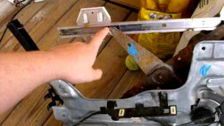 buick park avenue 97-05 window regulator video