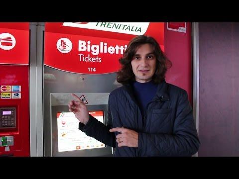 Как покупать билеты на поезд в Италии