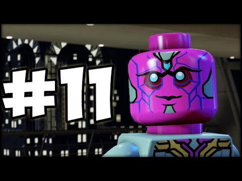 LEGO MARVEL'S AVENGERS - Part 11 - The Vision is Worthy!
