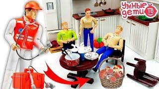 Мультфильмы про машинки Плохие грибы! Скорая помощь и грузовик Brudertoy Видео для детей ТаТаШоУ