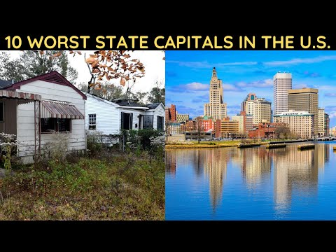 10 Worst State Capitals In The U.S.