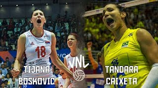 Tandara Caixeta x Tijana Boskovic by Danilo Rosa | Volleyball Battle | Opposite Spikers