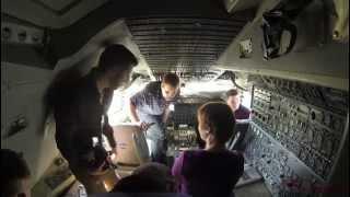 NASA 747 Shuttle Carrier Aircraft (N905NA) Tour - 01 February 2013