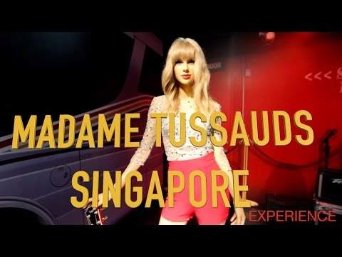Madame Tussauds Singapore - HD Walk Through 2016