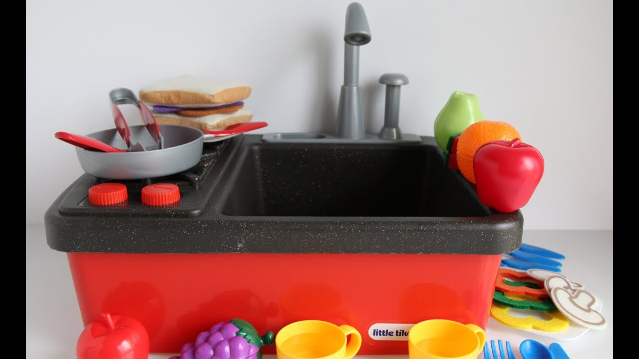 Little Tikes Splish Splash Sink and Stove - Kitchen Toys for ...