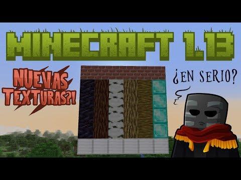 Minecraft 1.13 ¿De verdad era Necesario?
