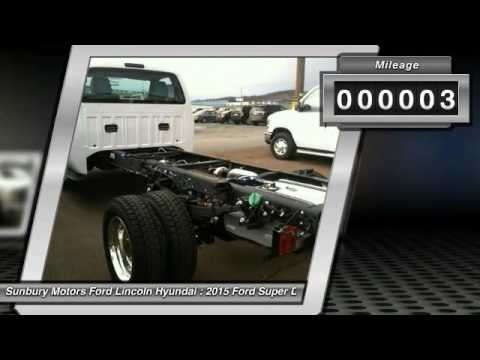 2015 Ford Super Duty F 550 Drw Sunbury Pa Fc27 Youtube