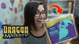 NEW DRAGON MAJESTY ELITE TRAINER BOX! | POKÉMON UNBOXING
