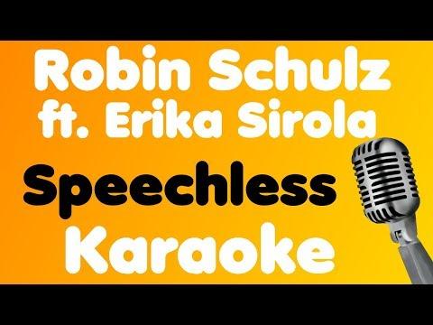 Robin Schulz • Speechless (feat. Erika Sirola) • Karaoke