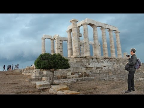 Greece,Cape Sounion,Poseidon Temple,Phaedra Love Theme(그리스,수니온곶,포세이돈신전) 20150528