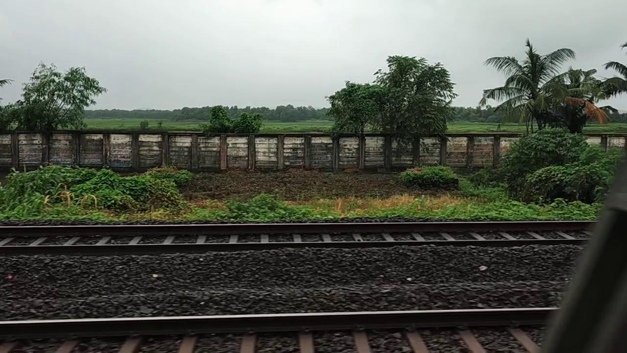 Mumbai Local Train Ride - Dahisar to Mira Road Feel in Monsoon