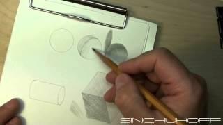 Repeat youtube video учимся штриховать карандашом