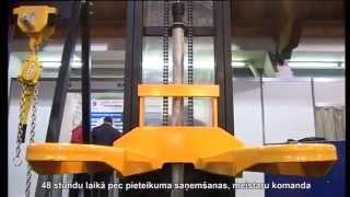 видео Смазывание механизмов мостовых кранов