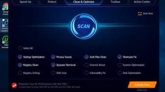 Advanced System Care Can Clean, Speed Up, Protect, and Optimize Your PC