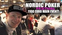 NORDIC POKER FESTIVAL €1100 MAIN EVENT | GRND Poker Vlog