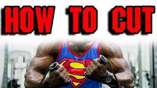 How to Cut  |  Healthy Weight Loss Program with Nutrition and Fitness Trainer