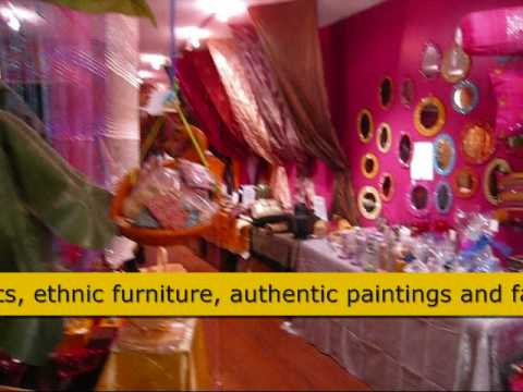 Rang Home Decor, Gerrard India Bazaar, Toronto, Canada - Youtube