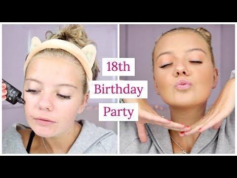GET READY WITH ME  18TH BIRTAY PARTY