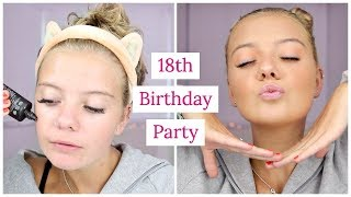 GET READY WITH ME | 18TH BIRTHDAY PARTY