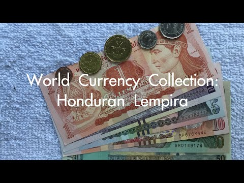 World Currency Collection: Honduran Lempira 🇭🇳