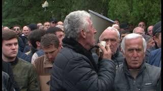 Митинг против указа президента Абхазии Рауля Хаджимба о помиловании Георгия Лукава (1)
