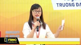 FBNC - Cuộc thi sinh viên biện luận 2017 - Đại học Hutech - Tập 3 (Phần 2)