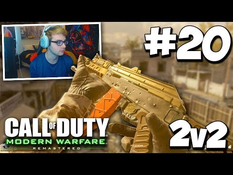OUR FIRST GAME BACK! (FINALLY) - MWR 2v2 GAMEBATTLES #20 (All Maps) w/ FORMULA!