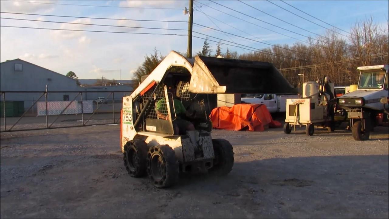 Bobcat 783 Skid Steer