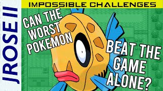 Is it Possible to beat Pokemon Ruby with just a Feebas?