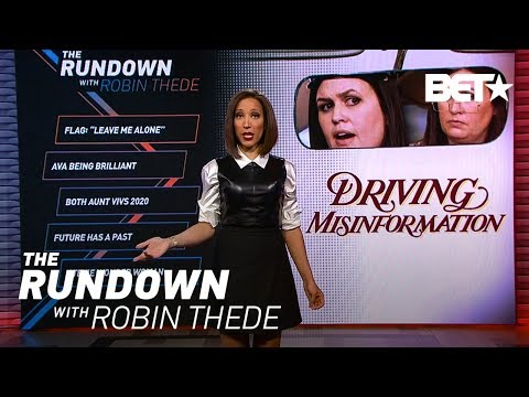 Driving Misinformation   The Rundown With Robin Thede
