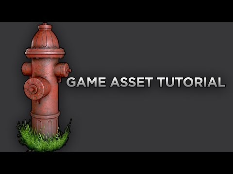 Game Asset Tutorial Part (1/5) Highpoly Modeling 3DS MAX