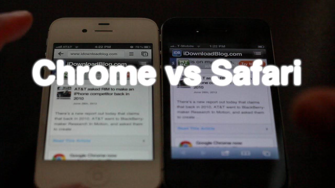 safari vs chrome iphone chrome vs safari on iphone ios 5190