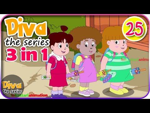 Seri Diva 3 in 1 | Kompilasi 3 Episode ~ Bagian 25 | Diva The Series Official