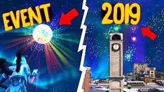 New YEAR's EVE in Fortnite! Secret