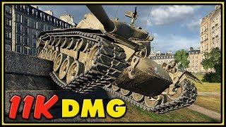 T57 Heavy - 11K Dmg - World of Tanks Gameplay