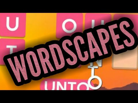 WORDSCAPES By PeopleFun | Free Mobile Word Game | Android / Ios Gameplay HD Youtube YT Video