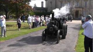 Miniature steam traction engines at Exbury 2011  ( Part 1 of 2 )