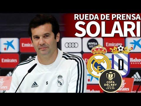 Real Madrid - Melilla | Rueda de prensa previa de Solari | Diario AS