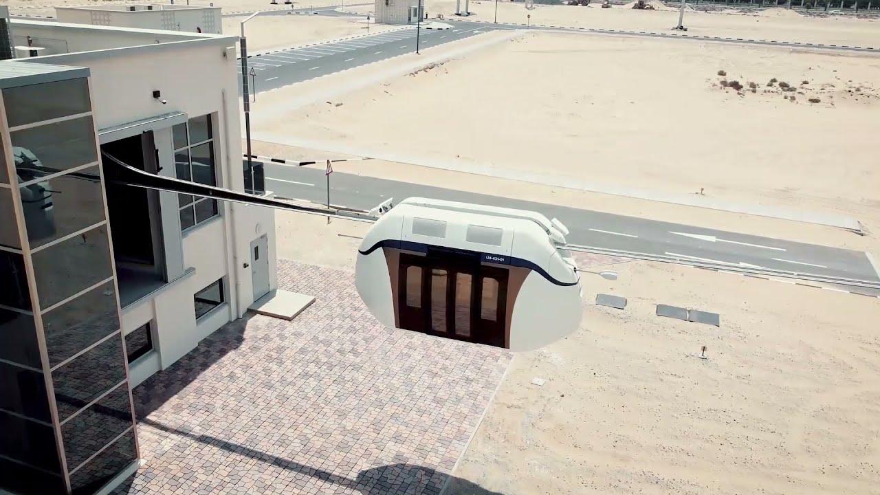 Sharjah's uSky transport technology - YouTube