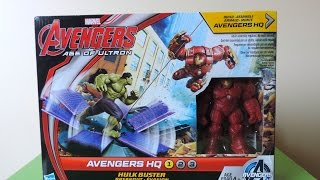 Marvel Avengers Age Of Ultron Hq - Hulkbuster Breakout Playset (build #1)