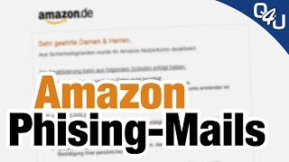 Amazon Phishing-Mail verbreitet sich über deutschen Provider | QSO4YOU Tech