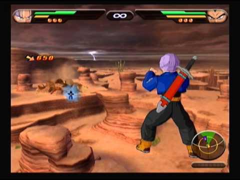 Dragonball Z Budokai Tenkaichi 1: Trunks vs. Vegeta